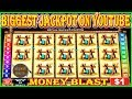 BIGGEST JACKPOT ON YOUTUBE ON MONEY BLAST HIGH LIMIT SLOT
