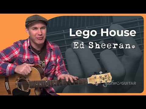 How to play Lego House by Ed Sheeran (Acoustic Guitar Lesson SB-110)