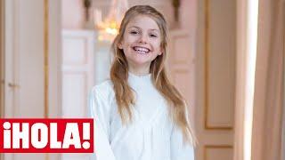 ¡Cómo ha crecido! Estelle de Suecia celebra su noveno cumpleaños