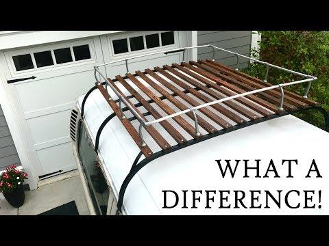 Bringing a Vintage VW Roof Rack Back to Life
