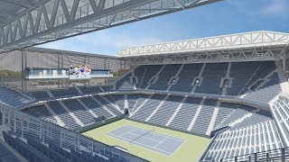 US Open's New Louis Armstrong Stadium