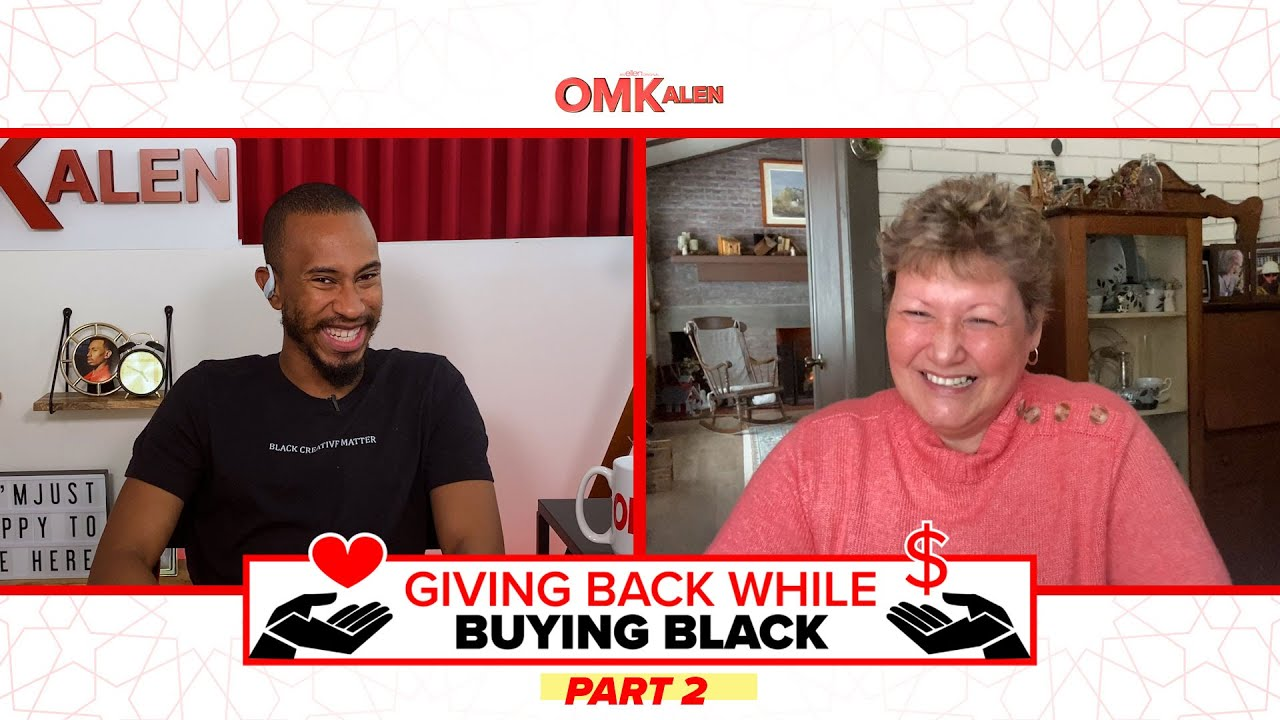 Kalen Is 'Giving Back While Buying Black' to an Amazing Healthcare Worker on the Frontlines