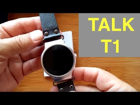 Makibes Talk-T1 Smartwatch: Unboxing and 1st Look