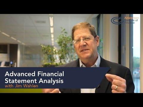 Advanced Financial Statement Analysis program | Amsterdam Institute of Finance