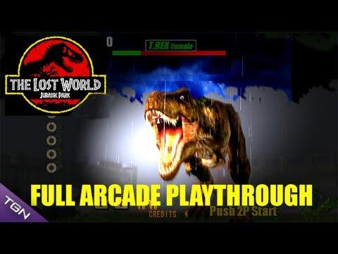 jurassic park the lost world arcade game online