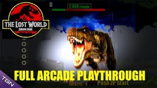 Game | The Lost World Jurassic Park Arcade Game Full Playthrough Sega Arcade Classic | The Lost World Jurassic Park Arcade Game Full Playthrough Sega Arcade Classic