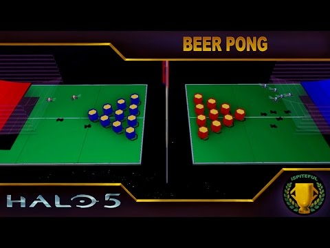 Halo 5 Custom Game : Beer Pong
