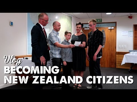 Vlog: Becoming New Zealand Citizens | A Thousand Words