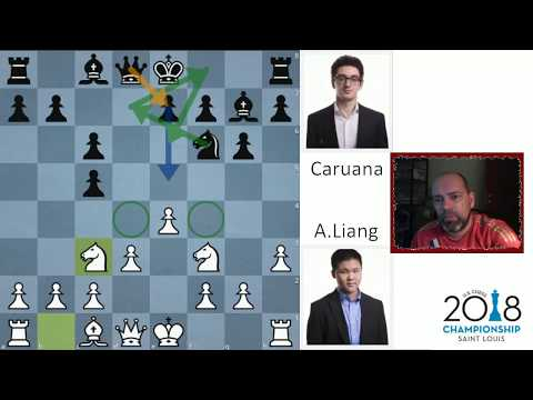 It took a wonder to stop Caruana | Liang - Caruana | US Chess Champs