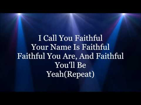 I Call You Faithful HD Lyrics Video By Donnie McClurkin