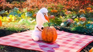 At Home With Olaf 'Pumpkin' Trailer (2020) Disney HD