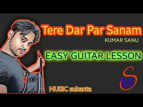 Tere Dar Par Sanam | Kumar Sanu | Easy Guitar Tutorial