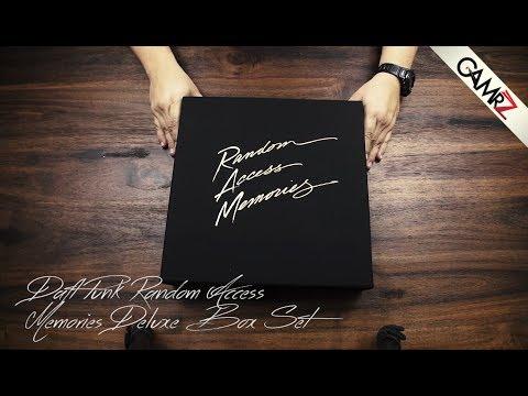 UNBOXING: Daft Punk - Random Access Memories LP Deluxe Box Set