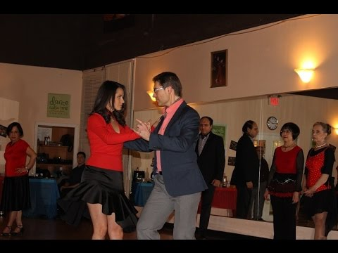 Argentine Tango Group Class Performance at a dance party in Markham Toronto