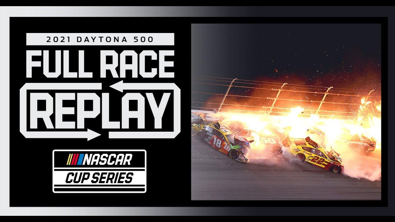 2021 Daytona 500   Massive Wrecks and an Upset Winner   Full Race Replay