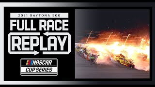 2021 Daytona 500 | Massive Wrecks and an Upset Winner | Full Race Replay