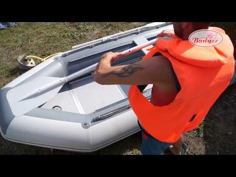 Badger Classic Line 340: сборка и разборка надувной ПВХ лодки