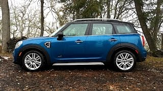 Driving a MINI in the Snow! 2017 MINI Cooper S Countryman ALL4 FIRST DRIVE REVIEW (2 of 2}