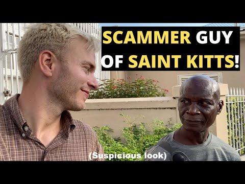 SCAMMER GUY OF ST. KITTS!! (avoid him!)