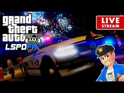 GTA 5 LSPDFR LIVE PATROL - Happy Independence Day | LSPDFR Real Life Cop Police Sheriff Mod GTA 5 PC