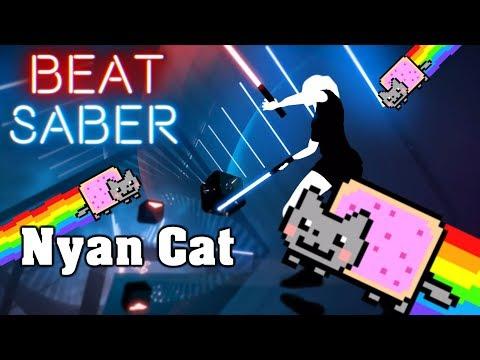 Beat Saber - Nyan Cat (custom song)   FC