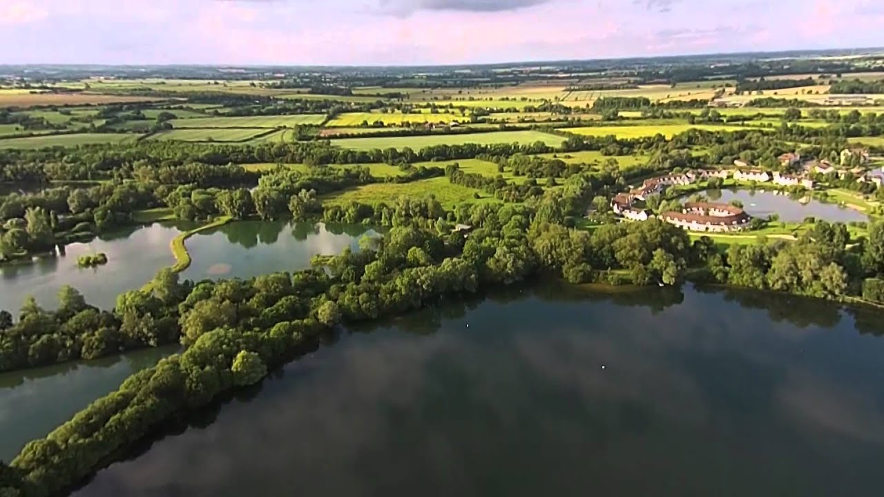 Cotswold Water Park - YouTube