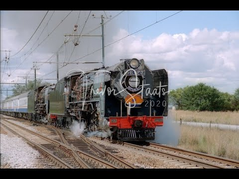 South African Steam: Trans Karoo Steam Finale March 1997