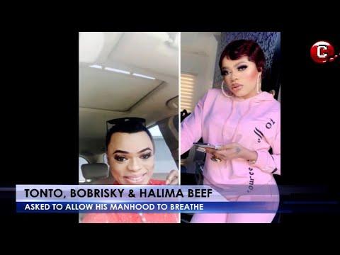 The Bobrisky, Tonto Dikeh, and Halima beef | Bobrisky should allow his manhood to breath