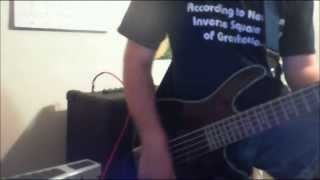 Bass Cover - Anesthesia - Type O Negative