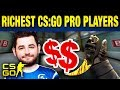 Top 10 Richest CS:GO Pros
