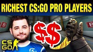 Top 10 Richest CS:GO Pros