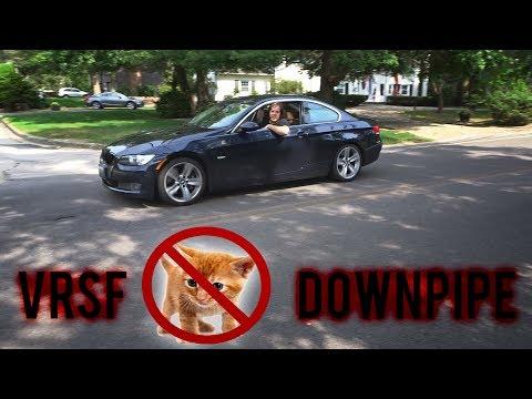 335i Catless Downpipe Install DIY