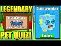 SECRET QUIZ GIVES FREE LEGENDARY PETS IN BUBBLE GUM SIMULATOR!