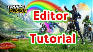 Trials Fusion How To Tutorial: Create A Rock Rolling Down A Hill Like A Ball Would With Commentary