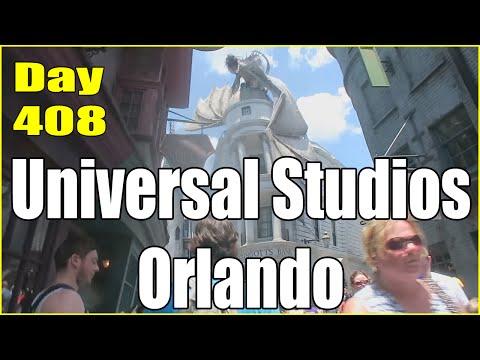 A Day At Universal Studios Orlando! | Daily Vlog Day 408 | Connerton Adventures