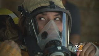 LAFD Holds First 'Girls Camp' To Inspire Young Women To Become Firefighters, EMTs
