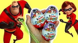 Surprise Incredibles 2 Kinder egg Chocolate Easter Eggs