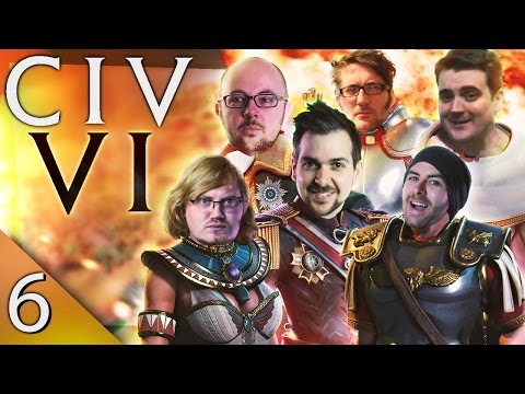 Civ 6 - Warmongers #6 - Cold War Gone Hot
