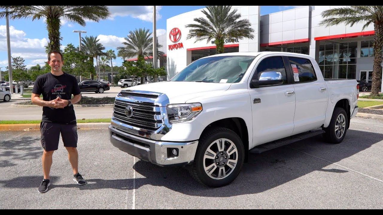 Tundra 1794 Edition >> Is The 2020 Toyota Tundra 1794 Edition Worth The Price