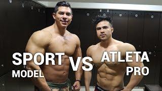 Entrenando triceps con un Sport MODEL por 1ra vez (ft. Fernando Valdez World)