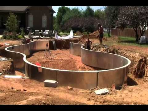 Building An Inground Swimming Pool Youtube