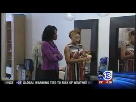Natural Resources Segment On Stretch Your Dollar ABC 13- Natural Hair Barbie