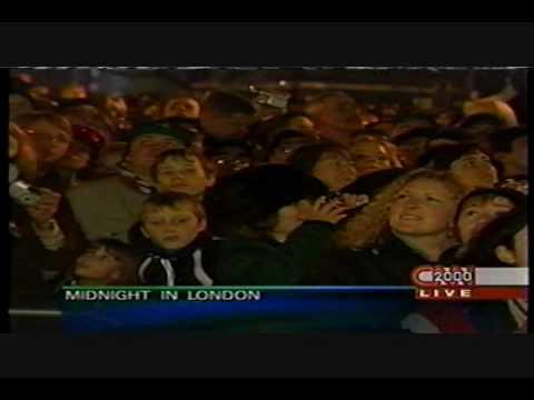 CNN 31 December 1999, Year 2000 celebration in London