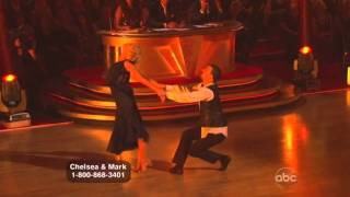 Chelsea Kane & Mark Ballas dancing with the stars Waltz
