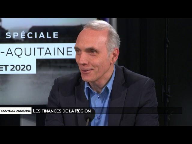 Nouvelle-Aquitaine : Les finances de la région