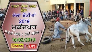 Live Bull Halat Race  Mukandpur ( Nawanshahr) Mela Chonkiya Da 2019
