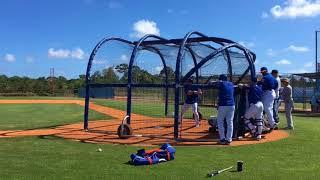 Mets' Tim Tebow faces Jason Vargas