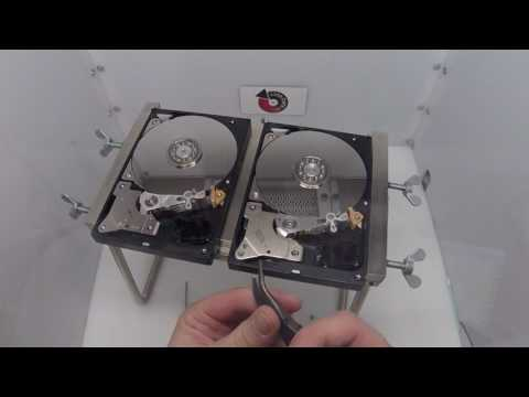 Western Digital WD5000AAKS Head Swap - Affordable Clean Room Data Recovery by $300 Data Recovery