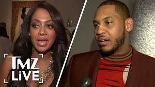 Carmelo & Lala Anthony: Peaceful Divorce | TMZ Live