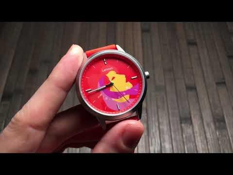 Как откалибровать гибридные часы? Как настроить время на гибридных часах Lenovo Watch C?